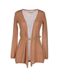 Met And Friends Cardigans Camel
