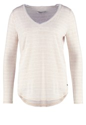 Abercrombie And Fitch Essential Long Sleeved Top Cream Off White