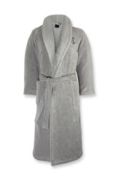 Ralph Lauren Home Langdon Bath Robe Light Grey