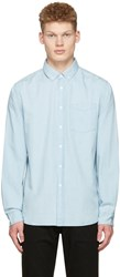 Saturdays Surf Nyc Indigo Denim Crosby Shirt