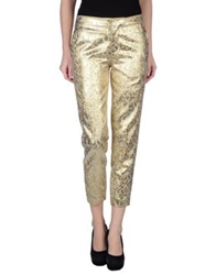 Ports 1961 Casual Pants Gold