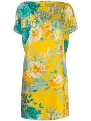 Gianluca Capannolo Floral Print Silk Dress 60