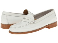 Bass Wayfarer White Patent Smooth Leather Women's Slip On Shoes