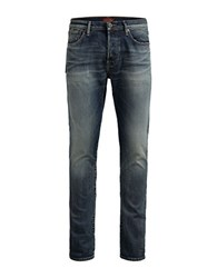 Jack And Jones Glenn Page 708 Slim Fit Jeans Blue Denim