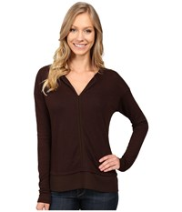 Sanctuary Hanna Tee Rich Chocolate Women's T Shirt Brown
