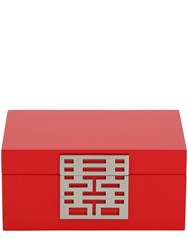 Shanghai Tang Small Dh Jewelry Box Red