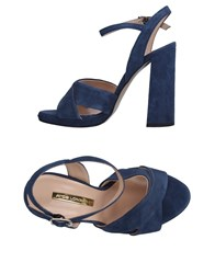 Atos Lombardini Sandals Dark Blue