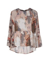 Hope Collection Shirts Blouses Women Beige