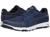 Puma Grip Sport Tech Peacoat Peacoat Marina Men's Golf Shoes Blue