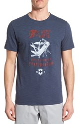 Men's Victorinox Swiss Army 'Craftsman' Slim Fit Graphic T Shirt Deep Lake