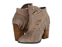 Not Rated Fierce Fringe Taupe Women's Dress Boots