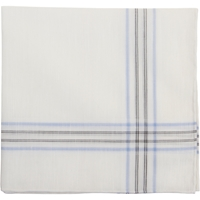 Simonnot Godard Fine Border Stripe Handkerchief
