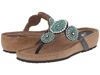 Spring Step Lori Turquoise Women's Shoes Blue