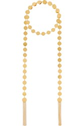Arme De L'amour Gold Plated Wrap Necklace