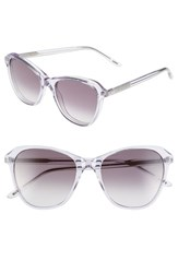 Wildfox Couture Women's Wildfox 'Parker' 51Mm Retro Sunglasses Crystal Grey Gradient