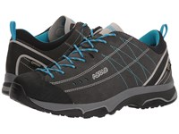 Asolo Nucleon Gv Graphite Silver Cyan Blue Shoes Black