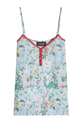 The Kooples Printed Silk Camisole