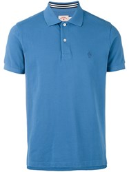 Brooks Brothers Classic Polo Shirt Men Cotton Xxl Blue