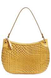 Cole Haan 'Genevieve' Open Weave Leather Hobo