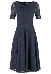 Lk Bennett Cocktail Dress Party Dress Dark Blue