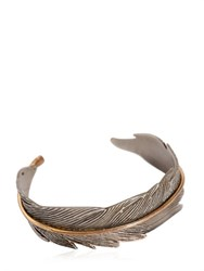 Htc Hollywood Trading Company Metal Feather Cuff Bracelet