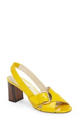 Bettye Muller Women's Pepper Slingback Sandal Yellow
