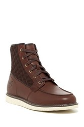 Timberland Newmarket Moc Quilted Boot Brown