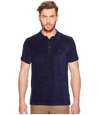 Vilebrequin Terry Polo Navy Men's Clothing