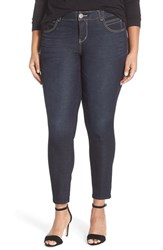 Democracy Plus Size Women's 'Ab Solution Booty Lift' Stretch Skinny Jeans