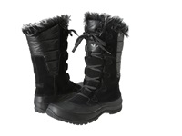 The North Face Nuptse Purna Shiny Tnf Black Tnf Black Women's Cold Weather Boots