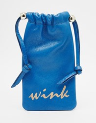Urbancode Wink Sunglasses Case Blue