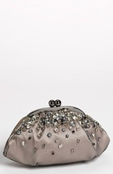 Menbur 'Vintage Bride' Clutch Black