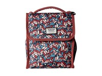 Burton Lunch Sack Feathered Friends Wallet Multi