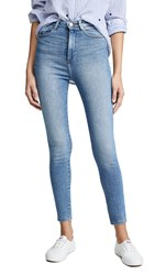 Dl1961 Chrissy Ultra High Rise Skinny Jeans Weymouth