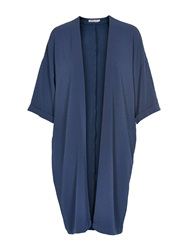 Soaked In Luxury Kimono Long Sleeves Detailed Sleeves Blue
