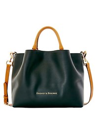 Dooney And Bourke City Large Leather Barlow Tote Black