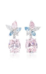 Anabela Chan M'o Exclusive Blush Lily Earrings Pink