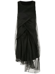 Uma Raquel Davidowicz Loren Midi Dress Black