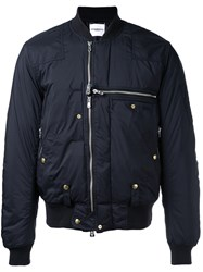 The Soloist Zipped Biker Jacket Black