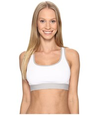 Champion Moderate Support Compression Bra White Ice Glaze Heather Women's Bra