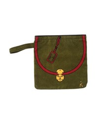 Roberta Di Camerino Small Leather Goods Pouches Women Military Green
