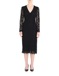 Day Birger Et Mikkelsen Floral Lace Sheath Dress Black