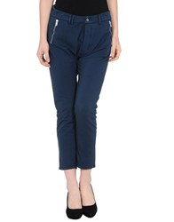Cycle Trousers 3 4 Length Trousers Women Blue
