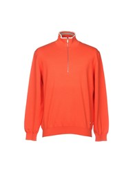 Zegna Sport Sweaters Orange