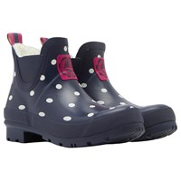 Joules Wellibob Ankle High Wellington Boots Navy