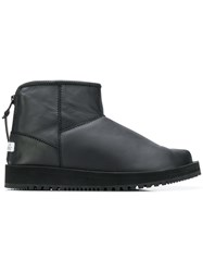Suicoke Padded Ankle Boots Black