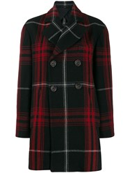 Vivienne Westwood Anglomania Checked Short Coat 60
