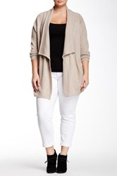 Tart Bain Wool Coat Plus Size Beige