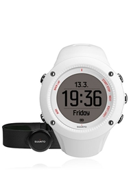 Suunto Ambit3 Hr Digital Running Watch White