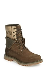 Timberland Women's 'Doublefold' Canvas Boot Canteen Nubuck With Canvas